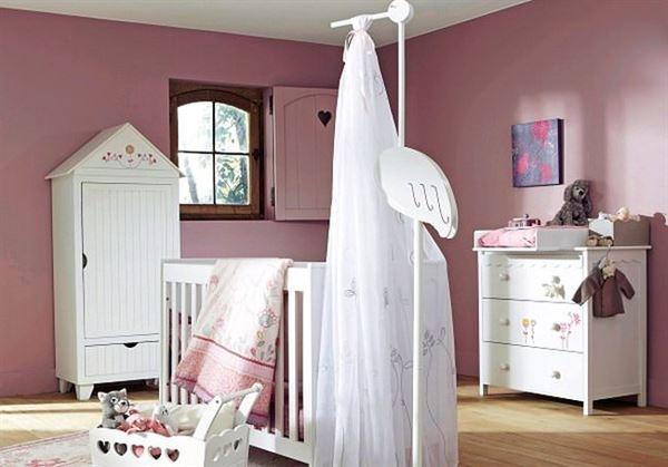 sevimli bebek odası dekorasyon fikirleri - beyaz bebek odasi dekorasyon modeli - Sevimli Bebek Odası Dekorasyon Fikirleri