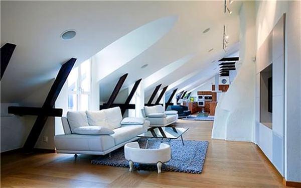 room over garage decorating ideas - Çatı Katı Daire Dekorasyon Modelleri