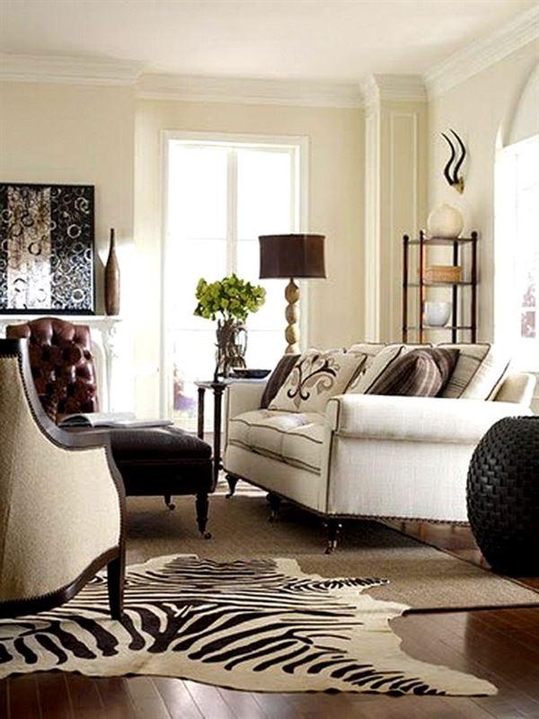 Beyaz lüks oturma odası dekorasyon fikirleri 2