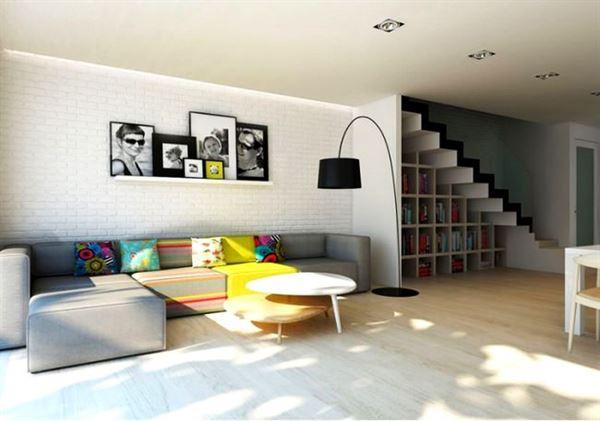 modern yeni tasarım oturma odası