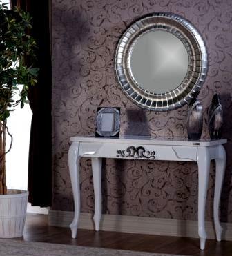 modern tasarım dresuar modelleri - beyaz lake dresuar - Modern Tasarım Dresuar Modelleri