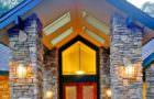 Bina Dış Taş Kaplama Dekorasyonları