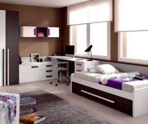 Renkli Genç Odası Mobilya Modelleri