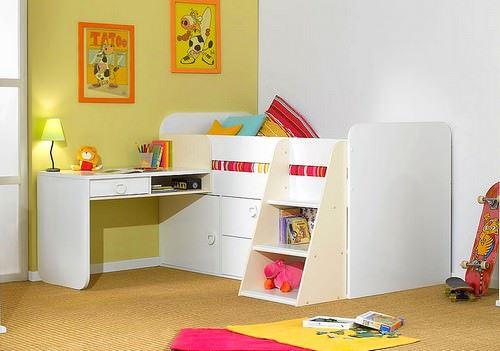 Kabinli Çocuk Odası Yatak Modelleri 3
