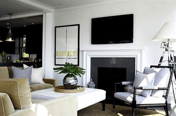 Oturma Odası Modern Renk Kombinasyonları