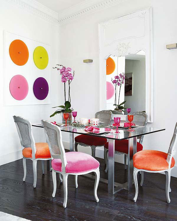 renkli dekorasyon