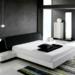 beyaz siyah yatak odası