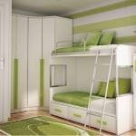 yeni model Çocuk odası ranza fikirleri - beyaz yesil cocuk odasi ranzasi1 150x150 - Yeni Model Çocuk Odası Ranza Fikirleri