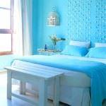 mavi renk yatak odası mavi renk yatak odası dekorasyon fikirleri - blue bedroom design12 150x150