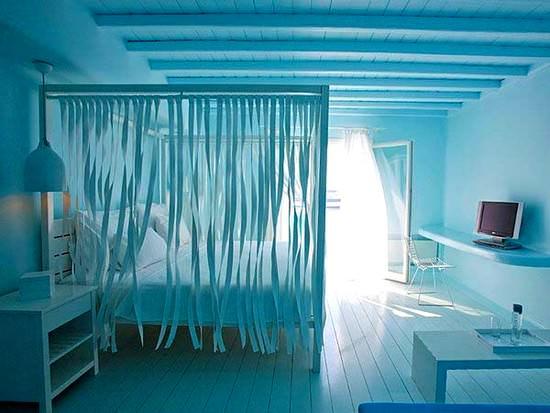 mavi yatak odası tasarımları