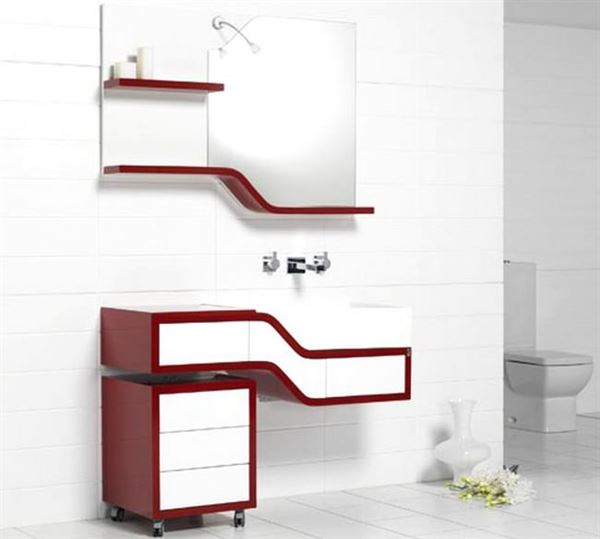 Ahşap Banyo Dolap Modelleri Ve Renkleri 4