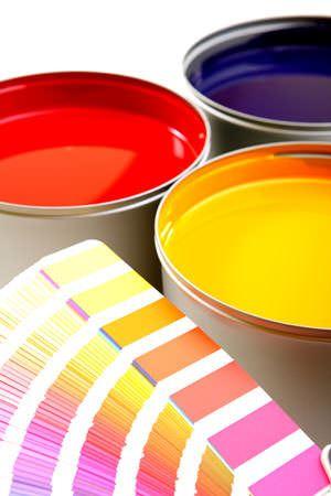 Printing press inks, cyan, magenta, yellow boya türleri ve Özellikleri nelerdir - boya kartelasi - Boya Türleri Ve Özellikleri Nelerdir