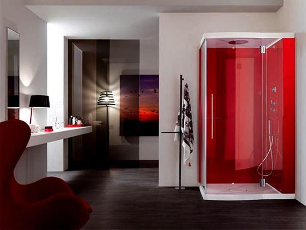 Buharlı Modern Duşa Kabin Modelleri 1