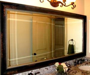 Büyük Banyo Ayna Modelleri