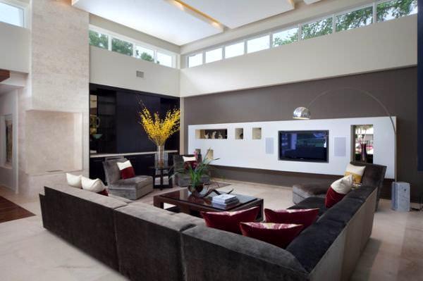 oturma odası mobilya dekorasyon