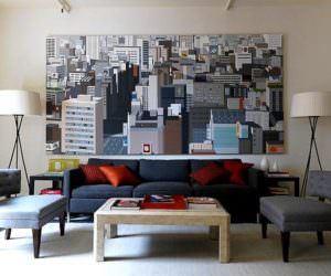 Sanatsal Duvar Süsleme Tabloları