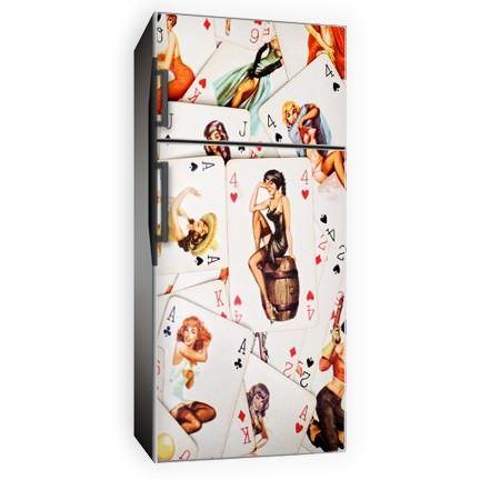 bahaus buzdolabı yapışkan resim