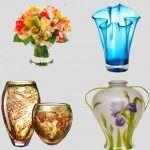 Dekoratif cam ve porselen vazo modelleri 1