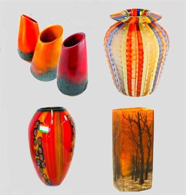 Dekoratif cam ve porselen vazo modelleri 2