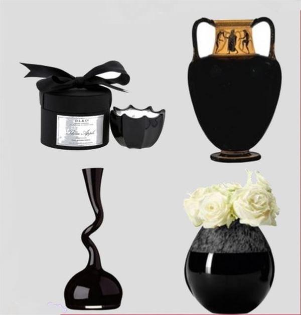 Dekoratif cam ve porselen vazo modelleri 3