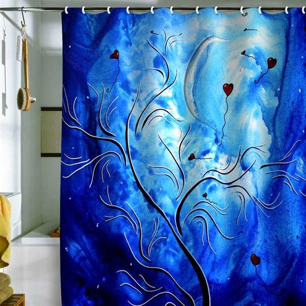 Canlı Renk Ve Desenlere Sahip Duş Perdeleri 4