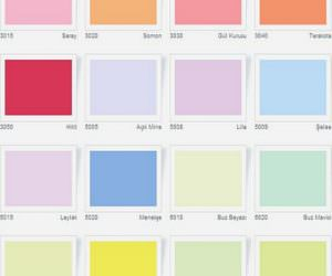 Casati Boya Renk Kartelası