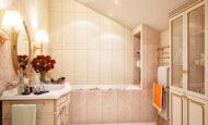 Ultra Lüks Dekorasyonlu Banyo Örnekleri