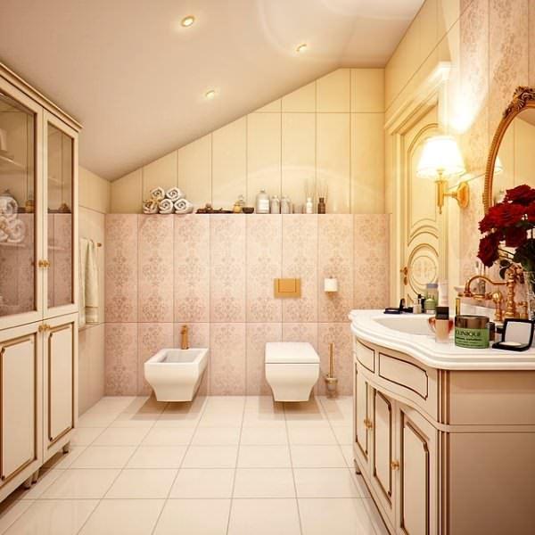 Ultra Lüks Dekorasyonlu Banyo Örnekleri 5