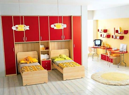 Fonksiyonel Renkli Ranzalı Genç Odaları 1