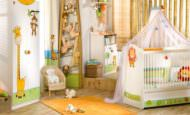 Çilek Bebek Odası Modelleri Ve Renkleri
