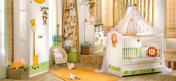 Çilek Bebek Odası Modelleri Ve Renkleri 1