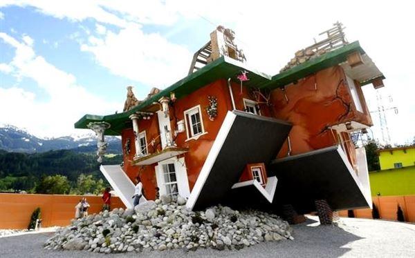 Çılgın İlginç Ters Ev Tasarımı Çılgın İlginç ters ev tasarımı