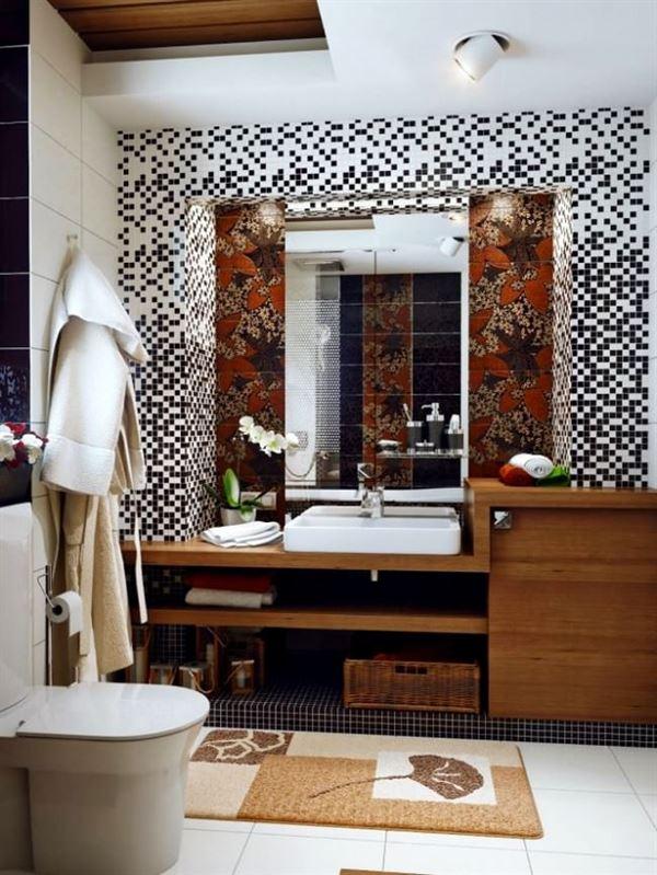 çini döşenmiş banyo