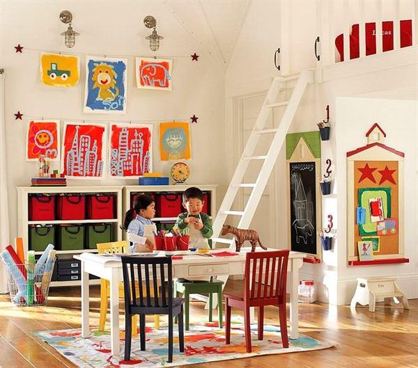 çocuk odası oyun masaları
