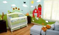 Çocuk Odası Duvar Resim Dekoru