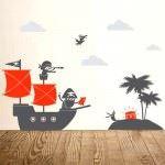 Çocuk Odası Sticker Duvar Süsleri 16