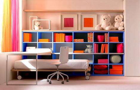 Çocuk Odası Dekorasyon Ve Mobilya Fikirleri 8