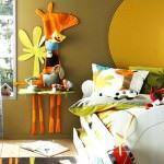 Çocuk Odasına Renkli Eğlenceli Dekorasyon Stilleri 2
