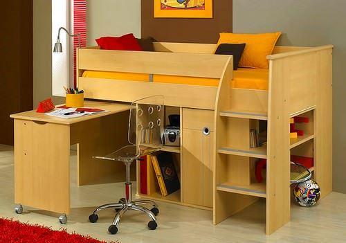 Kabinli Çocuk Odası Yatak Modelleri 1
