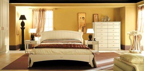 avangard ve contry tarzı ev dekorasyon modeli - contry avangard yatak odasi dekorasyon