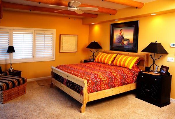 Ultra Suit Tarzı Yatak Odası Dekorasyonları 3