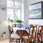 romantik renkli yemek odası fikirleri