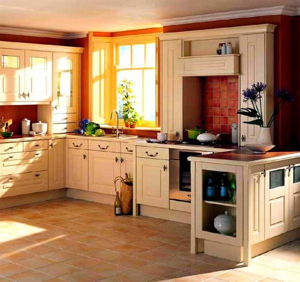 country-stili-mutfak-modeli contry tarzı mekan dekorasyonları