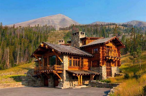 ağaç evlerin içi muhteşem doğal ahşap ev tasarımları
