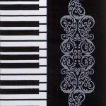 deco halı yeni halı desenleri ve renkleri - deco hali siyah beyaz 150x150 - Deco Halı Yeni Halı Desenleri Ve Renkleri