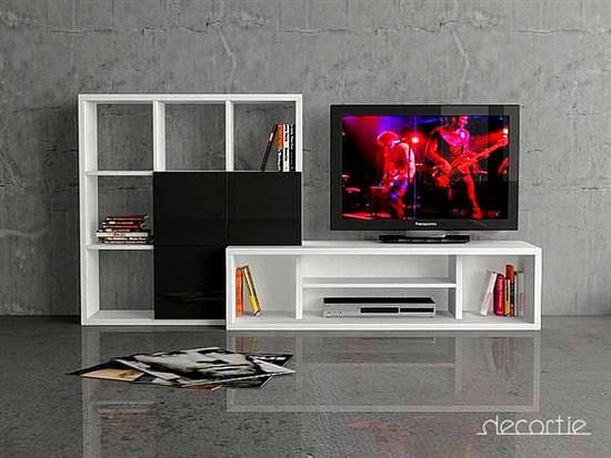 Yeni Modern LCD Tv Üniteleri 1