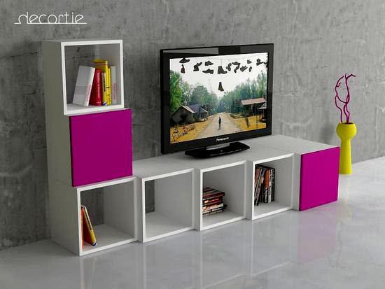Yeni Modern LCD Tv Üniteleri 2