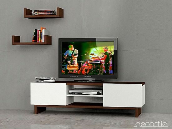 Yeni Modern LCD Tv Üniteleri 3