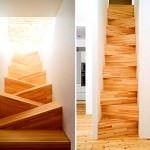 mekanlarınıza merdiven seçim Önerileri - degisik ahsap merdiven 150x150 - Mekanlarınıza Merdiven Seçim Önerileri