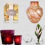Dekoratif cam ve porselen vazo modelleri 5